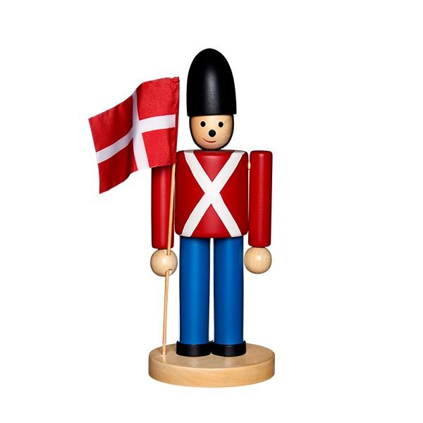 Garde med flag | Guard with flag
